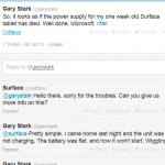 Microsoft Surface sinks. As does their so-called Surface support service